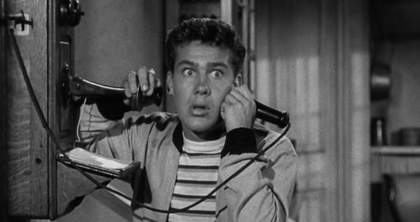 "Jack Larson as Jimmy Olsen in ""The Adventures of Superman"""