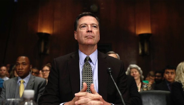 James Comey: the villain in our history