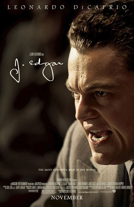 "Poster for Clint Eastwood's ""J. Edgar"" (2011)"