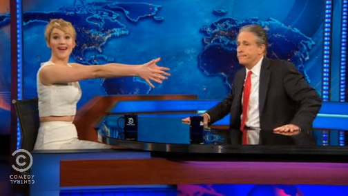 "Jennifer Lawrence on ""The Daily Show with Jon Stewart"""