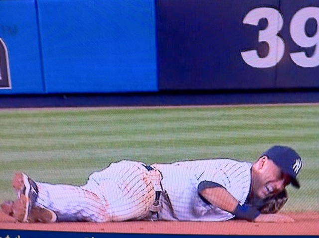 Derek Jeter ankle injury