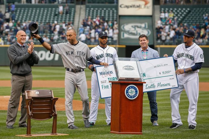 Jeter farewell tour in Seattle