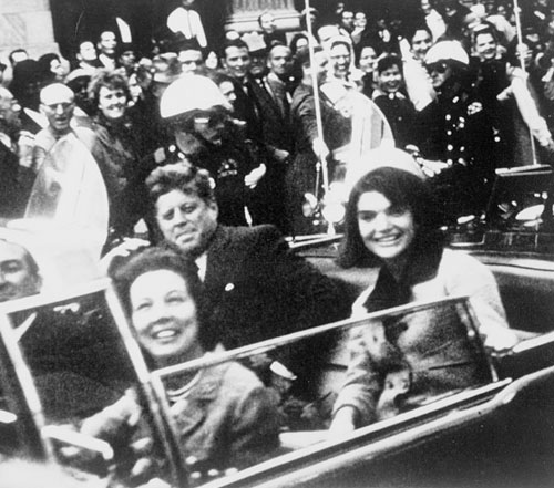JFK and Jackie in Dallas