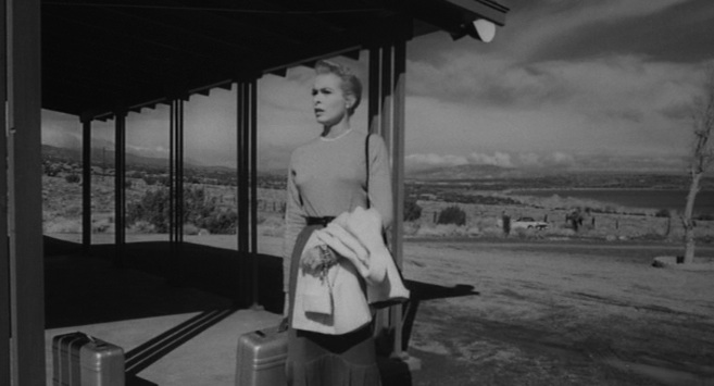 "Janet Leigh at the Mirador Motel in ""Touch of Evil"""