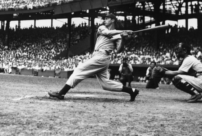 The DiMaggio swing