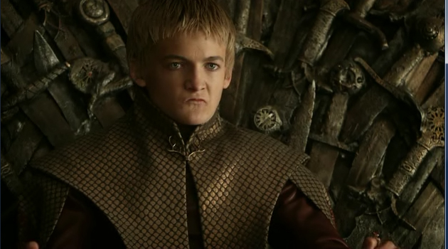 "King Joffrey (Jack Gleeson) in HBO's ""Game of Thrones"""