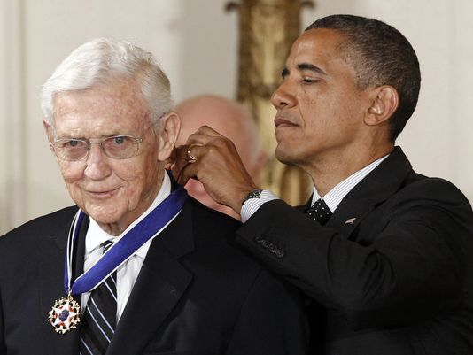 John Doar, Medal of Freedom, with Pres. Obama