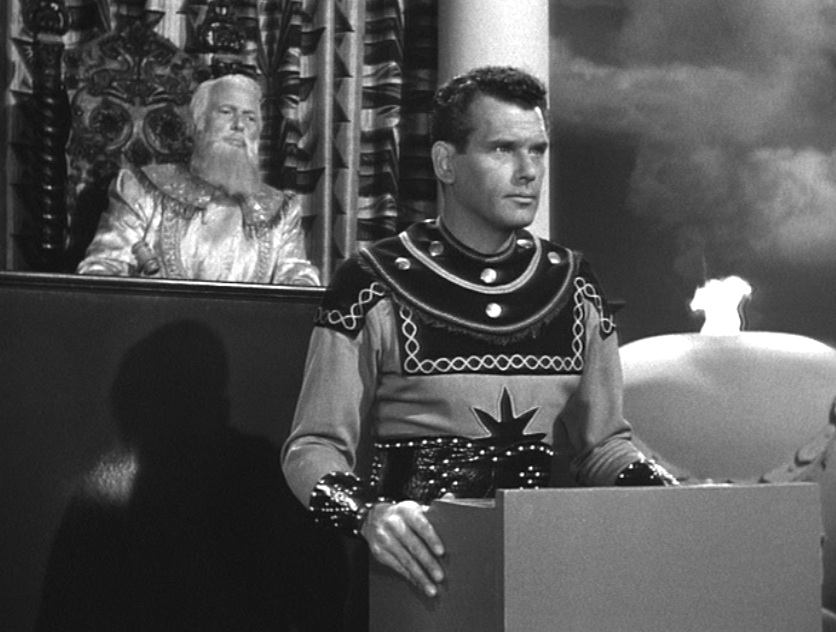 "Jor-El (Robert Rockwell) in 1952's ""The Adventures of Superman"""