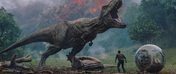 Jurassic World: Fallen Kingdom falls