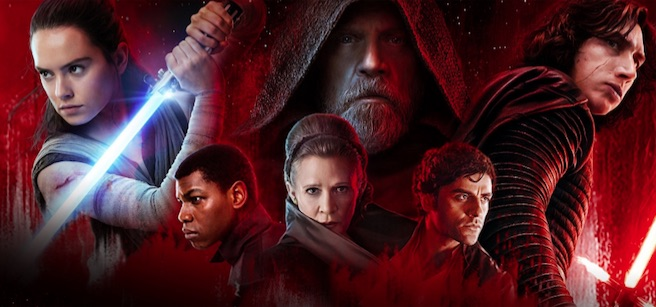 "Second weekend of ""Last Jedi"" stumbles at box office"