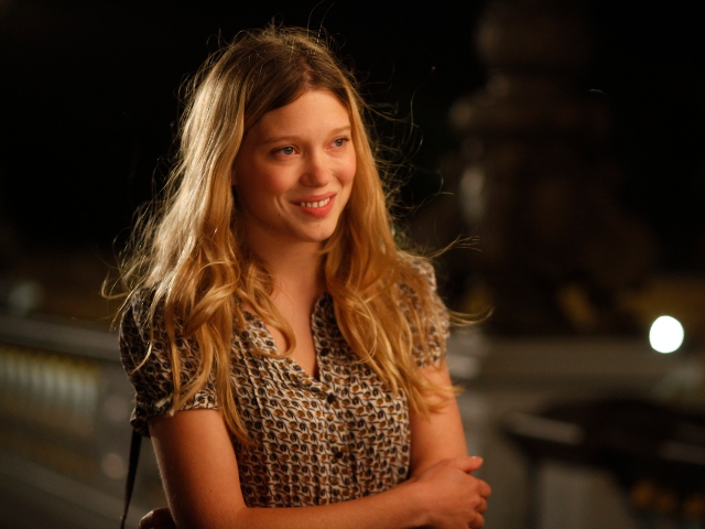 "Lea Seydoux in ""Midnight in Paris"""