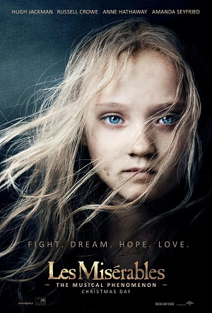 Les Miserables: both film and play posters