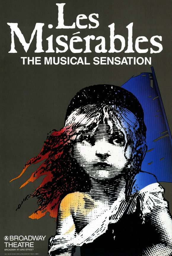 Original Les Miserables poster