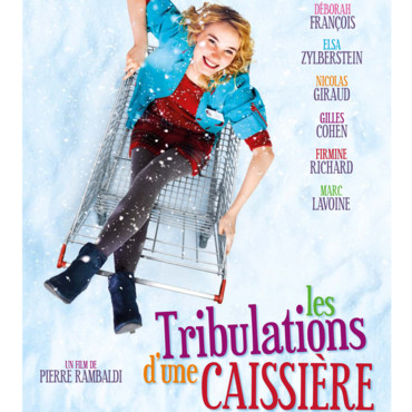 "poster for ""Les tribulations d'une caissiere"" or ""A Checkout Girl's Big Adventure"""