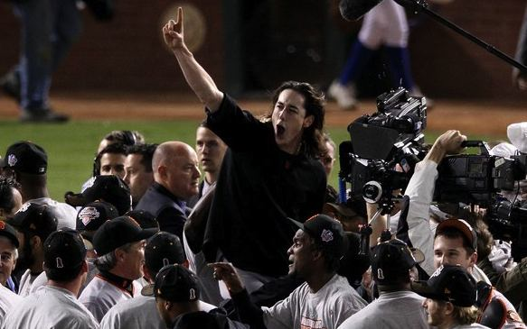 SF Giants celebrate their 2010 World Series title