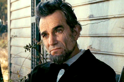 "Daniel Day-Lewis as Abraham Lincoln in ""Lincoln"" (2012)"