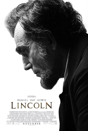 "Poster for Steven Spielberg's ""Lincoln"""