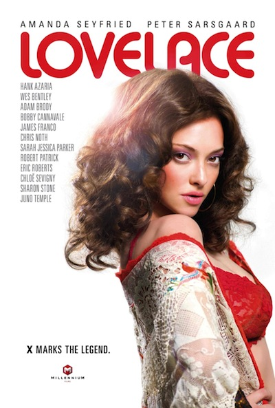 Lovelace poster with Amanda Seyfried