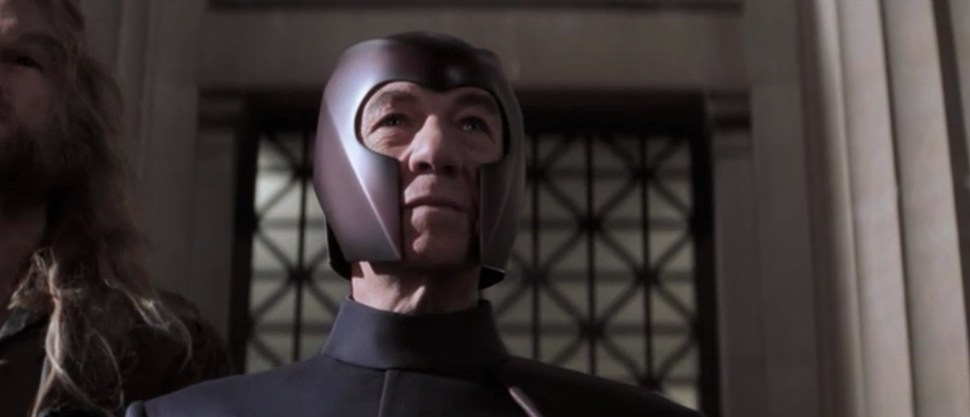 "Magneto (Ian McKellen) in ""X-Men"" (2000)"