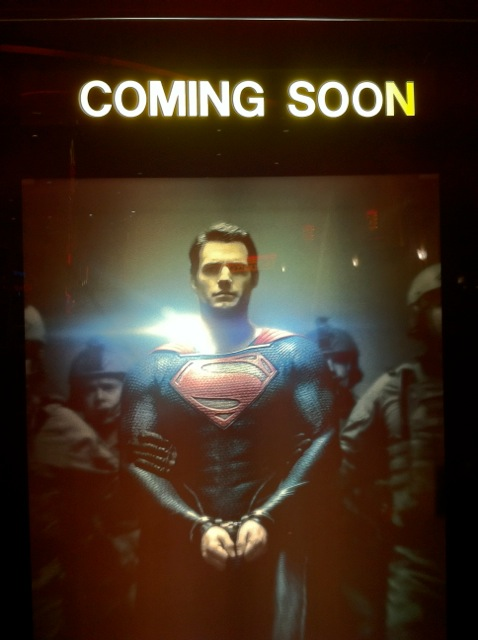 Man of Steel Coming Soon