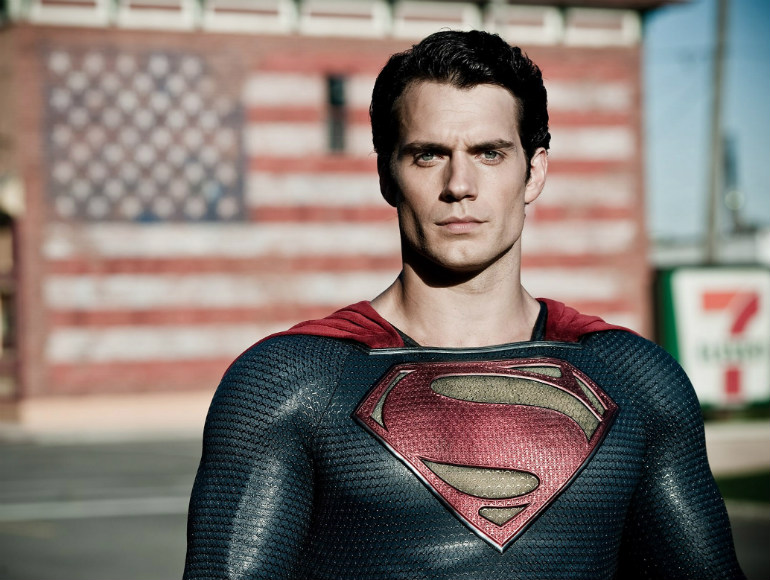 "Henry Cavill as Superman in ""Man of Steel"" (2013)"