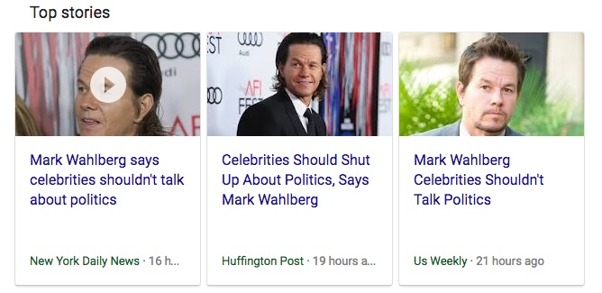 Mark Wahlberg: Celebrities should shut up about politics