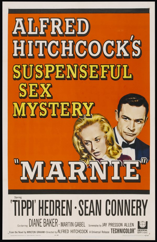 "Poster for Alfred Hitchcock's ""Marnie"" (1964)"