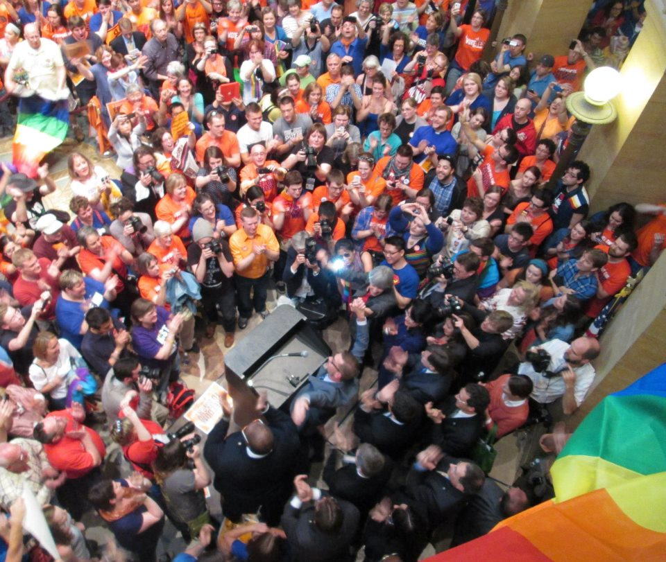 Marriage equality in Minnesota: May 13, 2013
