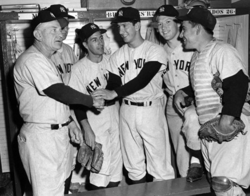 Casey Stengel, Billy Martin and the 1950s Yankees