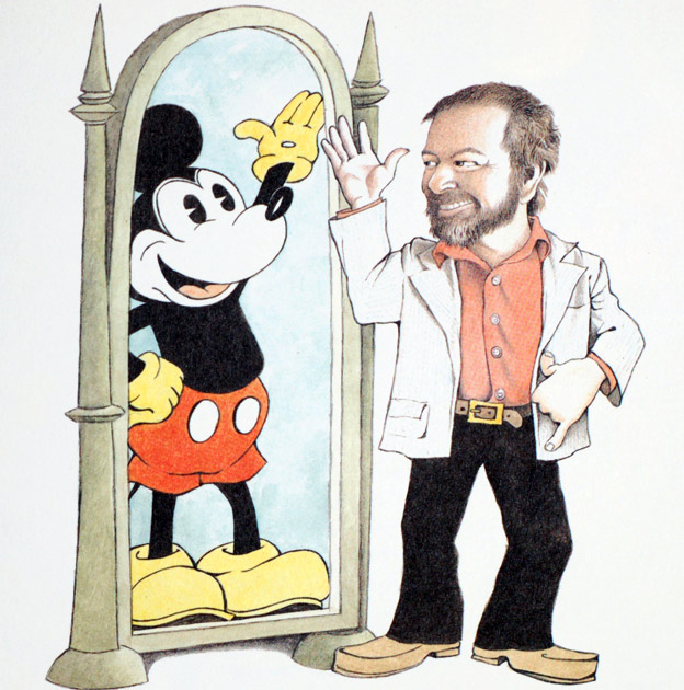 Maurice Sendak and Mickey Mouse