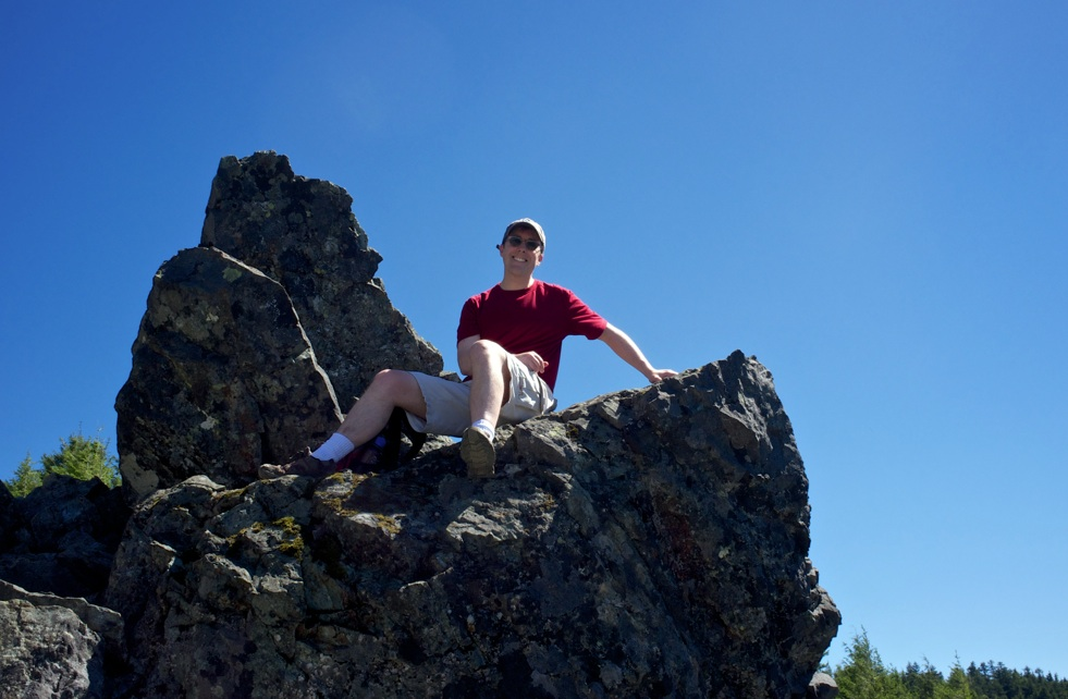 Me on Mt. Si, June 2013