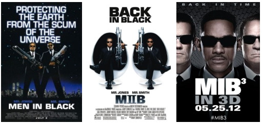 MEN IN BLACK posters