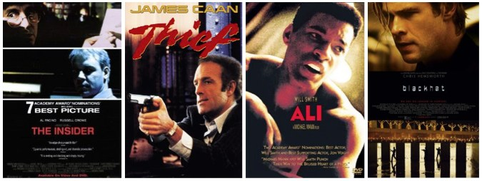 Michael Mann movies