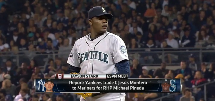 Michael Pineda, former Seattle Mariner