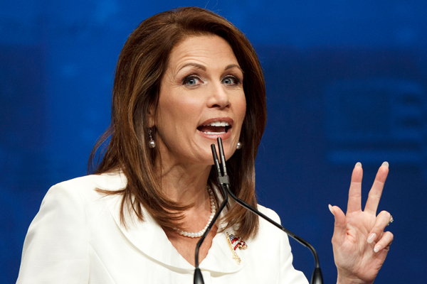 Michele Bachmann, leaving