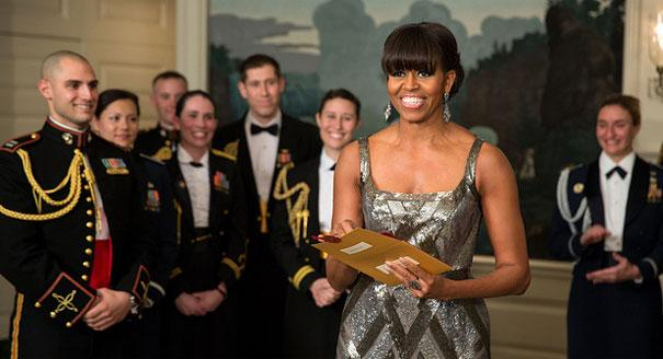 Michelle Obama at 2013 Oscars