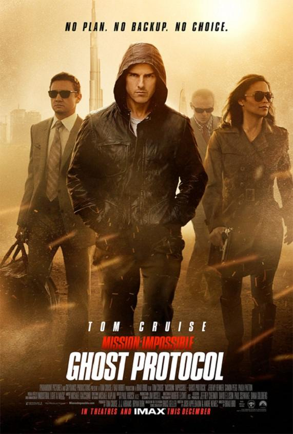 "Poster for ""Mission: Impossilbe--Ghost Protocol"" (2011)"