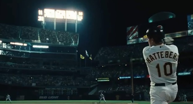 "Scene from ""Moneyball,"" the movie"