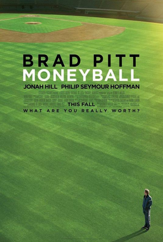 "Poster for ""Moneyball"" (2011)"