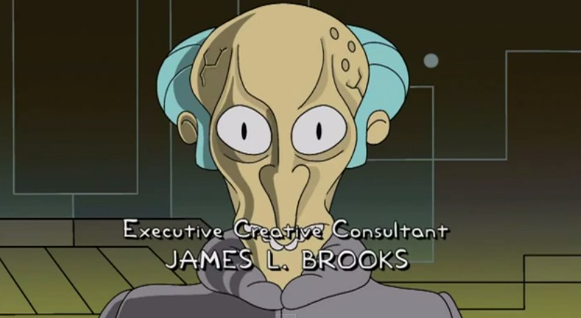 "Mr. Burns as Balok in special ""Star Trek"" version of ""Simpsons"" credits"