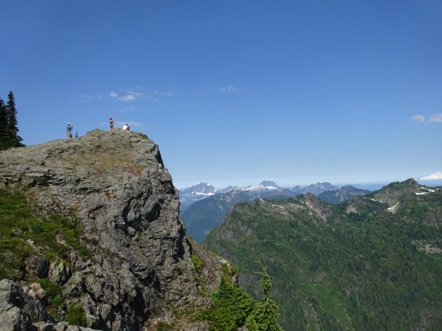 Mt. Dickerman summit: August 3, 2014