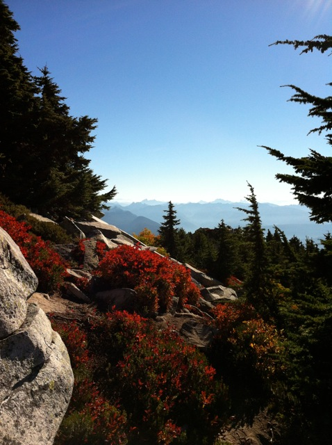Mt. Pilchuck, October 7, 2012