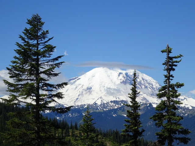 Mt. Rainier from Noble Knob, 2014