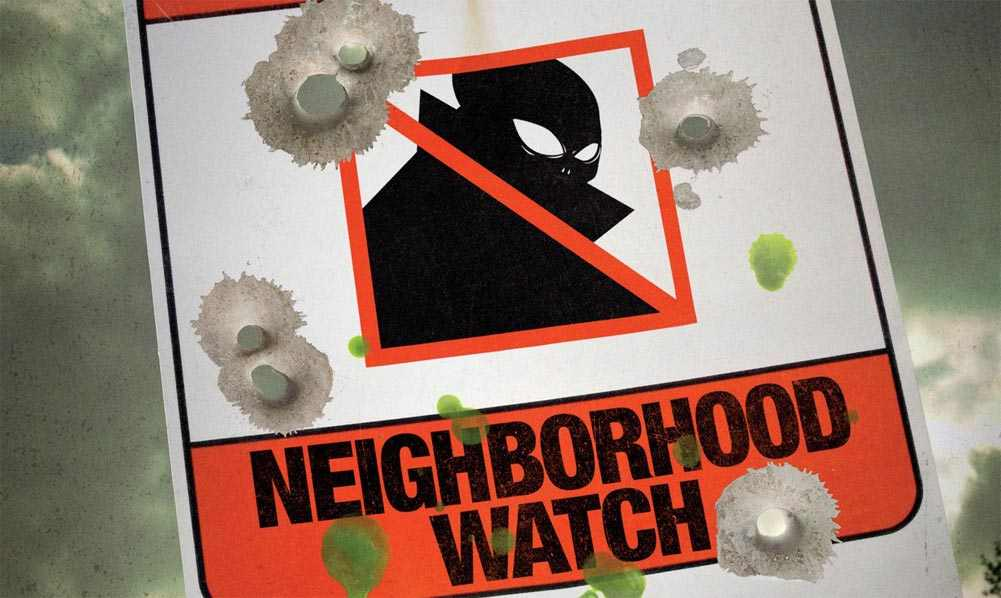 """Neighborhood Watch"" teaser poster"