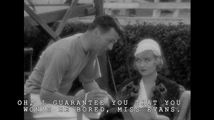 Neil Hamilton and Constance Bennett in What Price Hollywood?