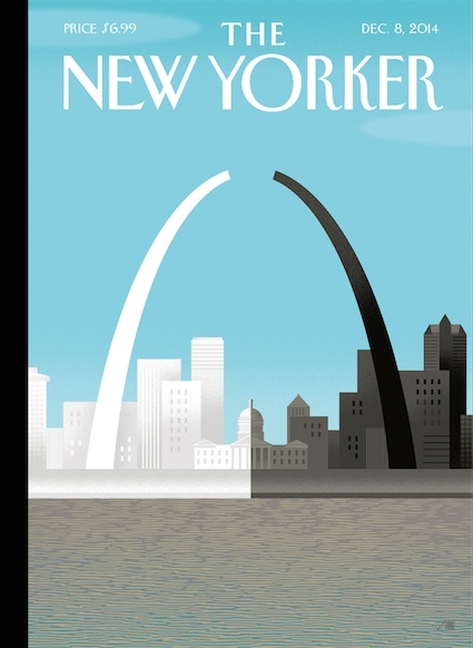 New Yorker cover after Ferguson: by Bob Staake