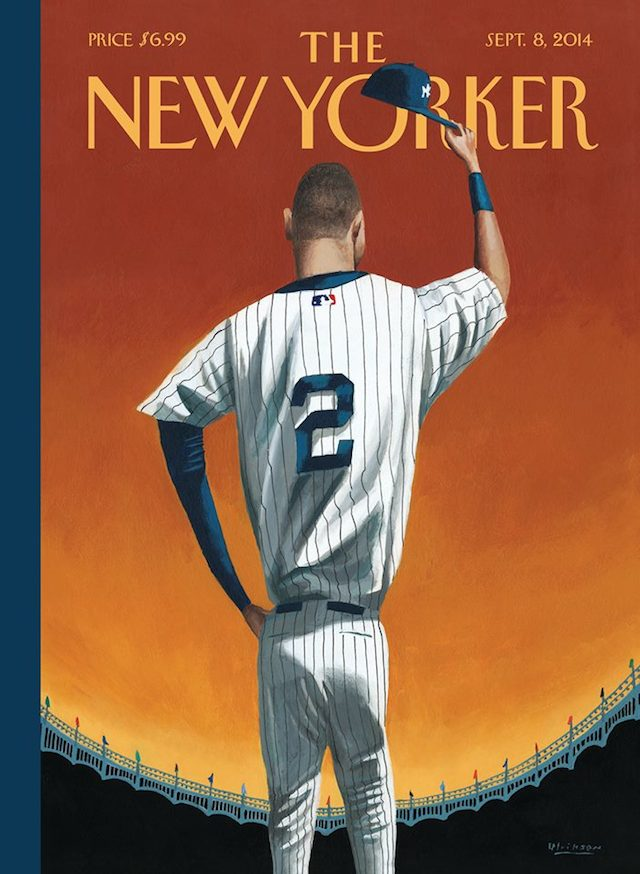 Derek Jeter on the cover of the New Yorker