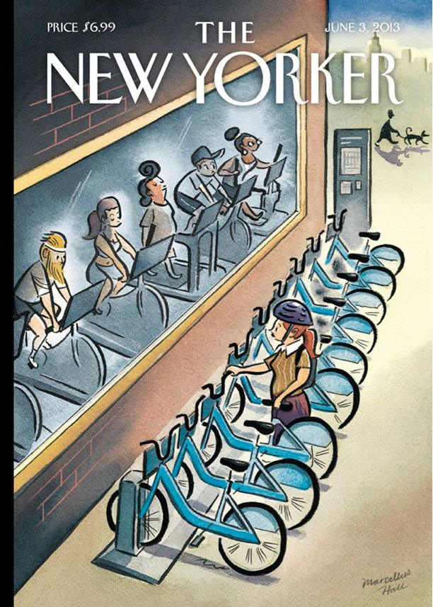 New Yorker cover: June 3, 2013, by Marcellus Hall