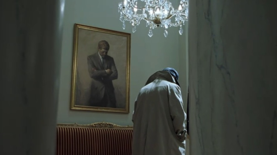 "Nightcrawler and JFK in the White House in ""X2"" (2003)"
