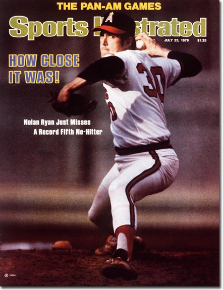 Nolan Ryan on the cover of Sports Illustrated